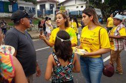 Campanha de Proteção à Criança e ao Adolescente chega à banda do Boulevard