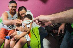 Equipe volante da Sejusc realiza emissão de RG para criança que precisa fazer cirurgia em SP