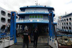 Servidores da Sejusc e Arsepam realizam abordagens de conscientização sobre o coronavírus em embarcações