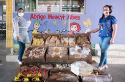 Instituições que trabalham com Pessoas com Deficiência recebem alimentos