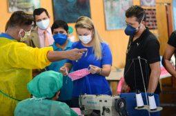 Governo do Amazonas, por meio da Sejusc, distribuirá 10 mil máscaras de tecido em terminais de Manaus nesta segunda (1°/06)