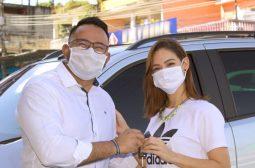 Aadesam entrega veículos ao Projeto Nova Rede Mulher, em parceria com a Sejusc