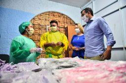 Governador Wilson Lima lança projeto que vai distribuir 1 milhão de máscaras e promover renda para 200 costureiras