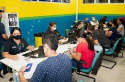 Com força-tarefa, Sejusc emite 400 documentos básicos para a população em três dias