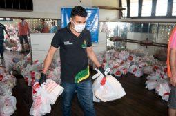 Parceria entre a Sejusc e Unicef vai doar kits de higiene para mais de 3 mil idosos em Manaus