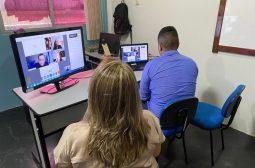 Em parceria com o TJAM, adolescentes do socioeducativo da Sejusc passam por audiências virtuais