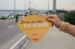 'Setembro Amarelo': Ponte Rio Negro recebe blitz informativa com adesivagem de carros
