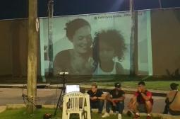 Manaus recebe exposição fotográfica 'Panas', com projeção no Viaduto de Flores