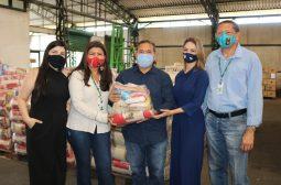 Sejusc recebe 4.116 cestas básicas do Governo Federal que serão repassadas aos órgãos de defesa das mulheres do AM