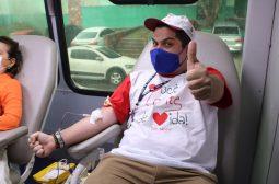 De doação de sangue a vacinação, Sejusc realiza ações para celebrar Dia Internacional dos Direitos Humanos