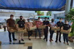 Campanha 'Natal para Todos Nós' doa cestas natalina a instituições credenciadas pela Sejusc