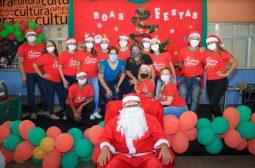 Seas e Sejusc promovem Natal da inclusão no Centro da Família Magdalena Arce Daou