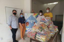 Sejusc doa 130 cestas básicas a instituições que atendem públicos em vulnerabilidade social