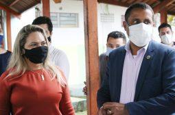 Representantes do Ministério dos Direitos Humanos visitam centro socioeducativo no Amazonas