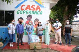 Sejusc e LBV entregam 600 kits de higiene para públicos em vulnerabilidade social em Manacapuru