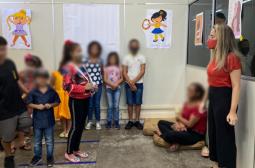 Filhos de mulheres em situação de violência são assistidos por equipes psicossociais do Cream