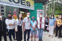Grupos em risco social dos municípios de Maués e Nhamundá recebem 213 kits de higiene enviados pela Sejusc