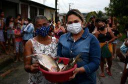 Na Semana Santa, Sejusc doa pescado a públicos em risco social de instituições cadastradas pela pasta