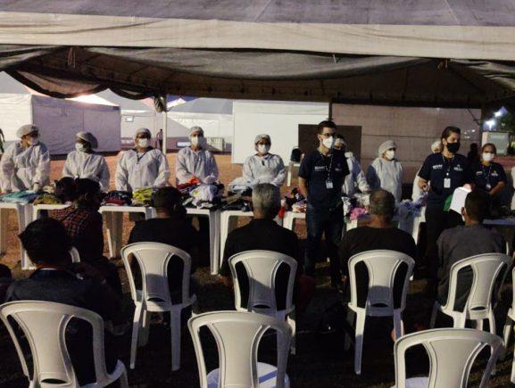 Abrigo do Governo do Amazonas recebe mais 21 pessoas em situação de rua