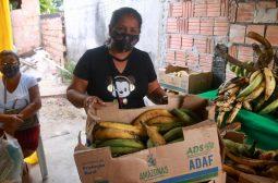 Governo do Amazonas doa 7.5 toneladas de alimentos para instituições que atendem famílias em risco social