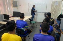 Sejusc realiza curso de piscicultura em parceria com o Cetam para adolescentes do Dagmar Feitosa