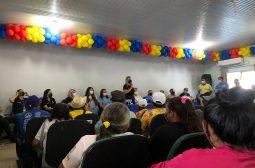 Em Parintins, Governo do Estado apresenta projeto Idoso Empreendedor e realiza ações de conscientização