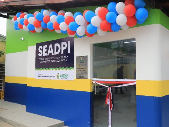 Governo do Amazonas, via Sejusc, reinaugura sede da Secretaria Executiva Adjunta de Direitos da Pessoa Idosa