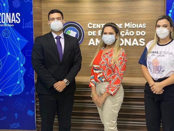 Governo do Amazonas abre Semana Estadual do Idoso com videoconferência no Centro de Mídias de Educação