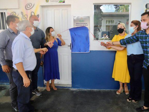 Sejusc reinaugura anexo da Escola Estadual Josephina de Melo nas dependências do Centro Socioeducativo Dagmar Feitoza