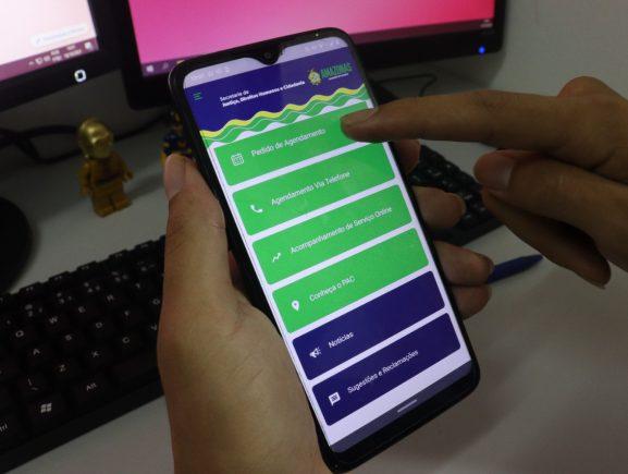 Índice de faltosos agendados pelo PAC Digital chega a 60% de média